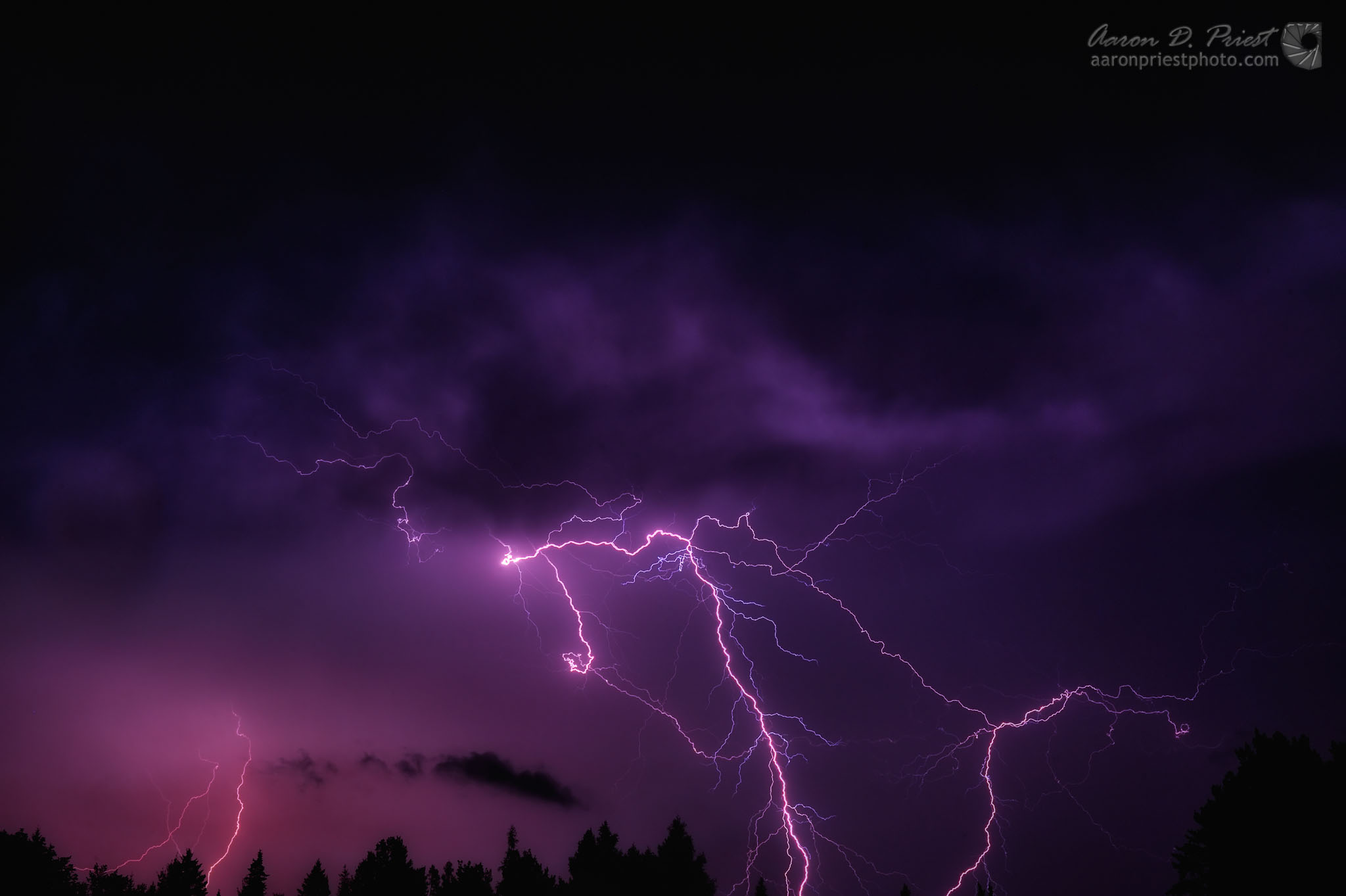 Lightning Storm Part 2 | Aaron Priest Photography